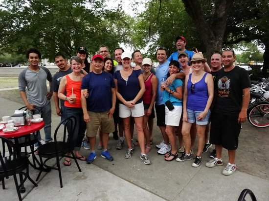 FreeWheelin' Bike Tours : Our group with Teddy and Cy