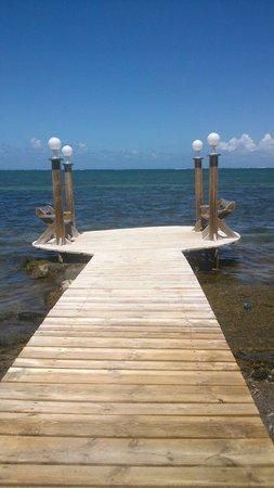 HOTEL CAP MACABOU: Accès plage de l hotel
