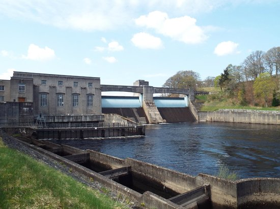 Pitlochry Festival Theatre Restaurant and Cafe: Hydro Dam