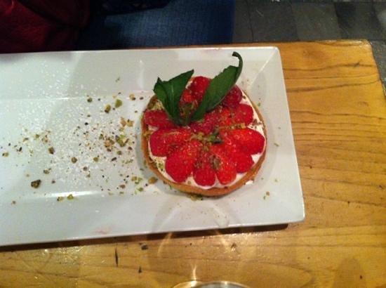 Fuxia: tarte aux fraises