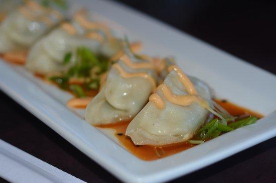 Beacon Landing Restaurant and Pub : Best ever shrimp gyoza