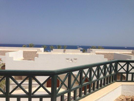 Coral Beach Resort Montazah: Terrazzo della camera
