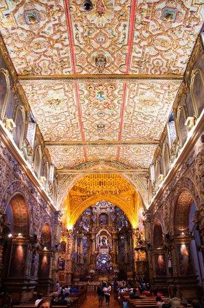 Kirche San Francisco (Iglesia de San Francisco): Interior Iglesia San Francisco