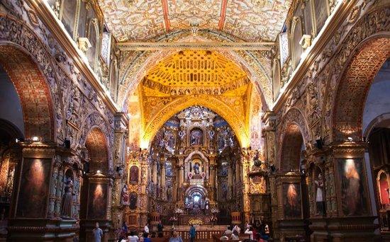 San Francisco Church (Iglesia de San Francisco): Interior Iglesia San Francisco