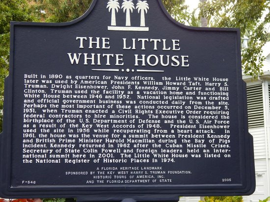 Harry S. Truman Little White House: Reseña histórica de THE LITTLE WHITE HOUSE
