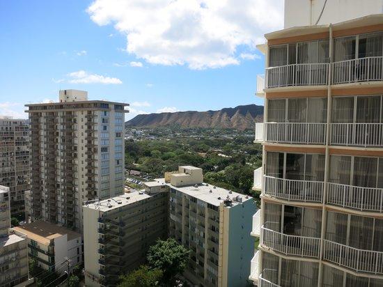 Aston Waikiki Beach Hotel: 部屋からの眺め