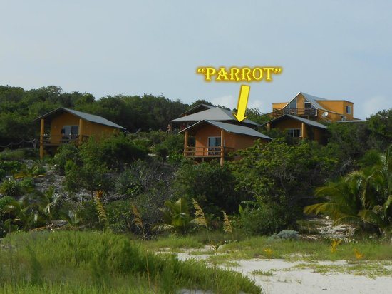 "Shannas Cove Resort: Location of ""Parrot"" Bungalow"