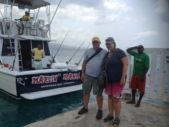 Marlin Madness: Marlin Mania - our ride for the morning