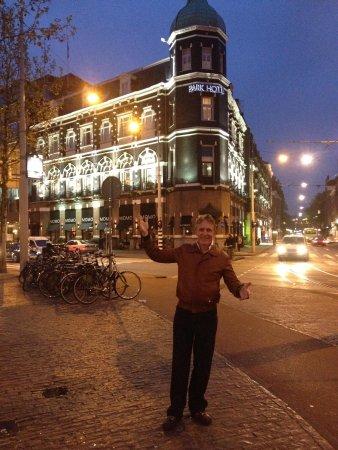 Park Hotel Amsterdam: In front of Vondel Park