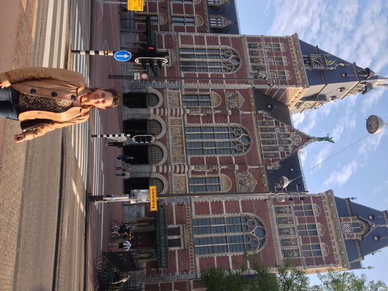 Park Hotel Amsterdam: 1 block to rijksmuseum