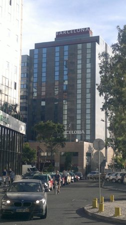 3k Barcelona Hotel: externa do 3k Barcelona