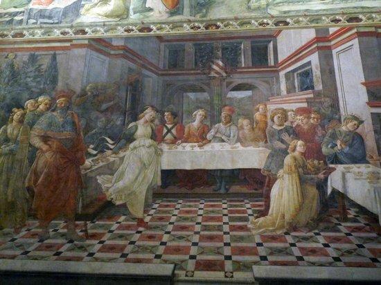 Duomo di Prato: La danse de Salomé devant Hérode et Hérodiade