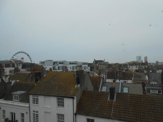 New Steine Hotel: room with a view