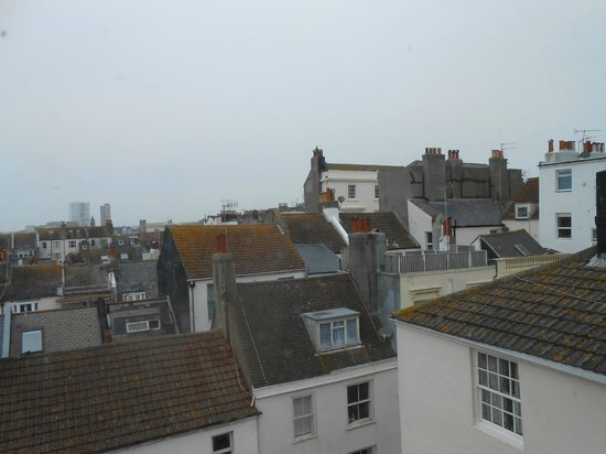 New Steine Hotel: room with a view ii