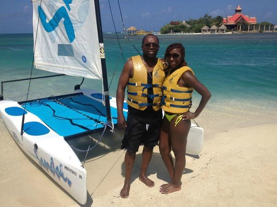 Sandals Royal Caribbean Resort and Private Island: included water activities with the great staff