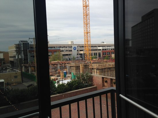 Inn at Cherry Creek: construction right outside your window