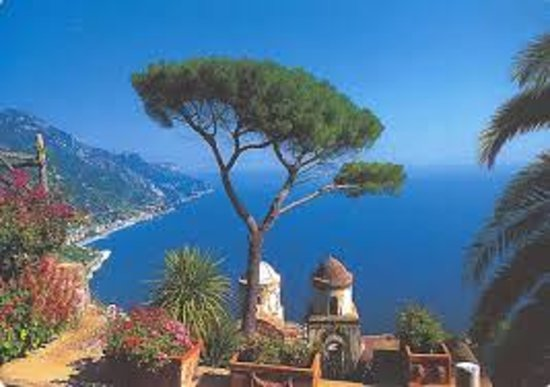 Positano Drive Day Tours : Villa Cimbrone in Ravello