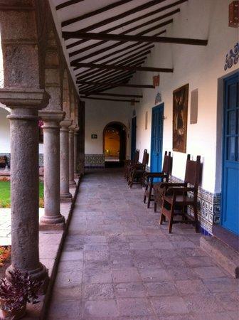 San Agustin Monasterio de la Recoleta Hotel: Cloitre
