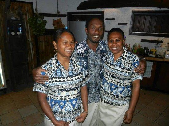 Paradise Cove Resort: Staff