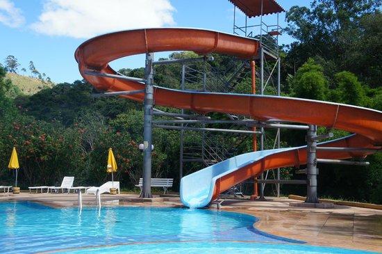 Hotel Fazenda Saint Nicolas : Toboágua - Piscinas