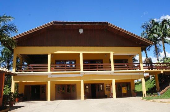 Hotel Fazenda Saint Nicolas : Restaurante