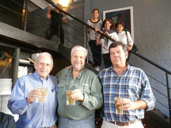 Al Forno : Chuy , Clemente y yo mismo