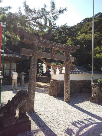 Watatsumi Shrine: 13.10.12【和多都美神社】鳥居