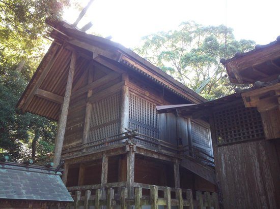 Watatsumi Shrine: 13.10.12【和多都美神社】社殿
