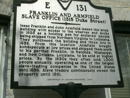 Freedom House Museum: Franklin and Armfield Slave Office