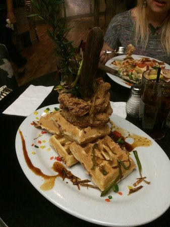 Hash House a Go Go: Chicken and Waffles
