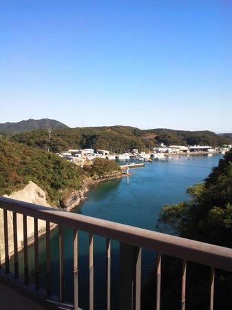 Manzekiseto: 13.10.12【万関瀬戸】万関橋から見える瀬戸(東側)