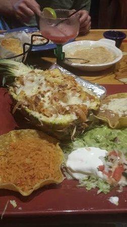 Cocina de Carlos: Mango, pineapple, bacon, shrimp Don Charly