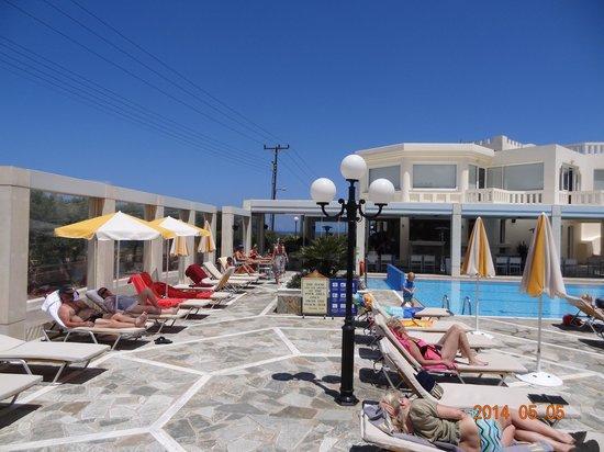Hotel Kedrissos: Pool Area