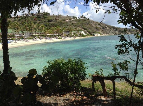 St. James's Club & Villas : beach view