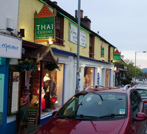 Jintana Thai Restaurant, Bowness on Windermere