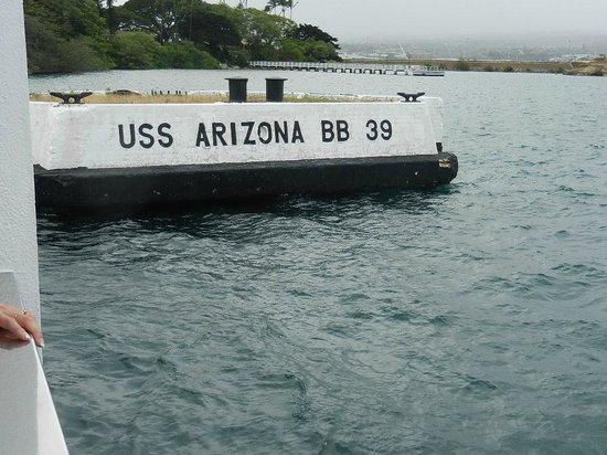 Pearl Harbor : Where U.SS Arizona was docked
