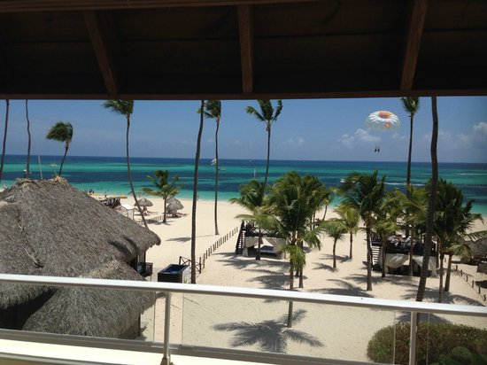 Secrets Royal Beach Punta Cana: view from wedding terrace