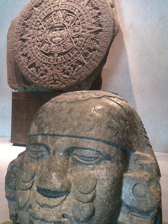 Museo Nacional de Antropología: アステカ文明