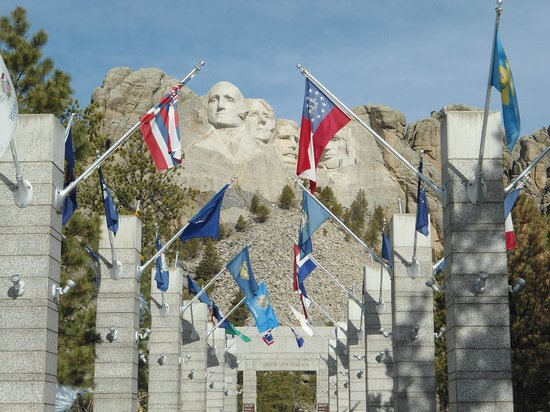 Mount Rushmore National Memorial : Mount Rushmore