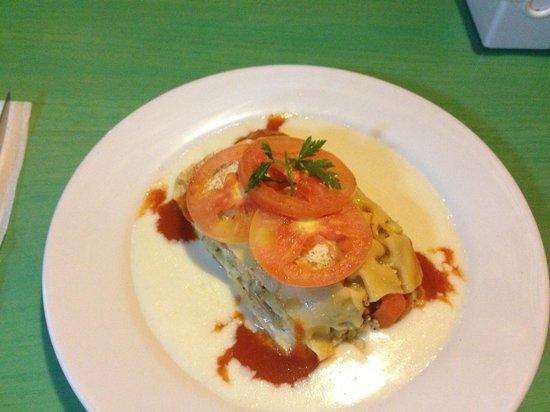 Squimz: Veggie lasagne... Yum!