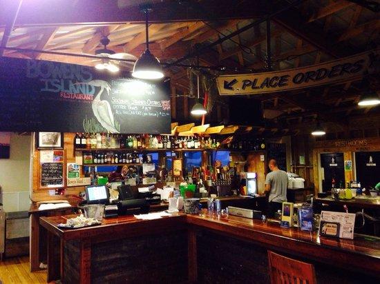 Bowens Island Restaurant: Order here