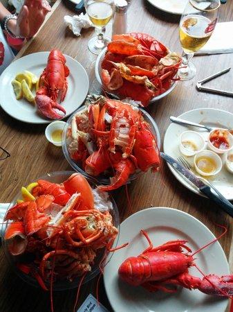 Boston Lobster Feast : Plenty of lobster