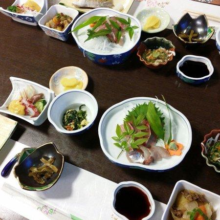 New Hotel Tamaya: 関アジは美味しかったです。