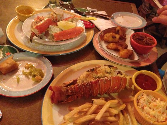 The Green House : Lobster Thermidor, King Crab & sides
