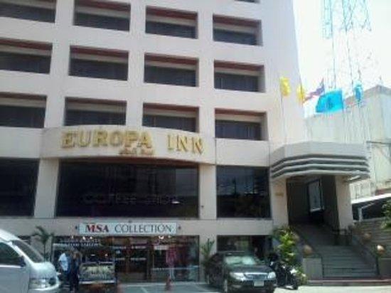 Europa Inn: Street view