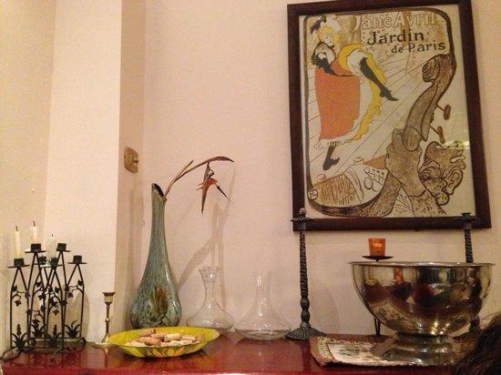 Il Caffe Da Vinci: Bella decoración