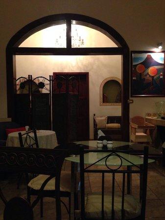 Il Caffe Da Vinci: Varios espacios este es un de ellos