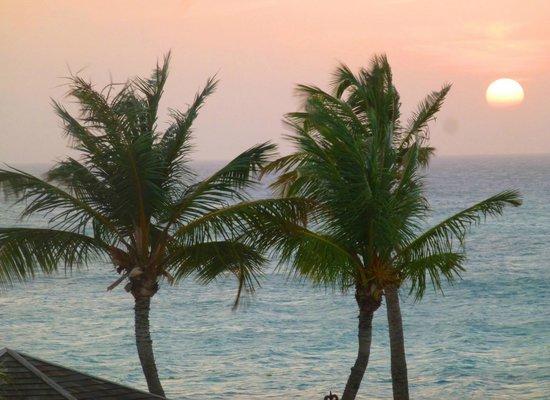 Bucuti & Tara Beach Resort Aruba: sunset view