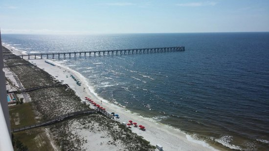 The Pearl of Navarre Beach: View from our balcony!