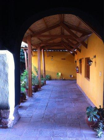 San Agustin Monasterio de la Recoleta Hotel: Patio